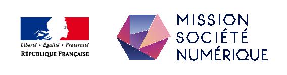 logo république française mission société numérique